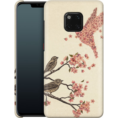 Huawei Mate 20 Pro Smartphone Huelle - Blossom Bird von Terry Fan