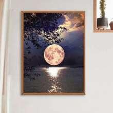 Moon Print DIY Diamond Painting