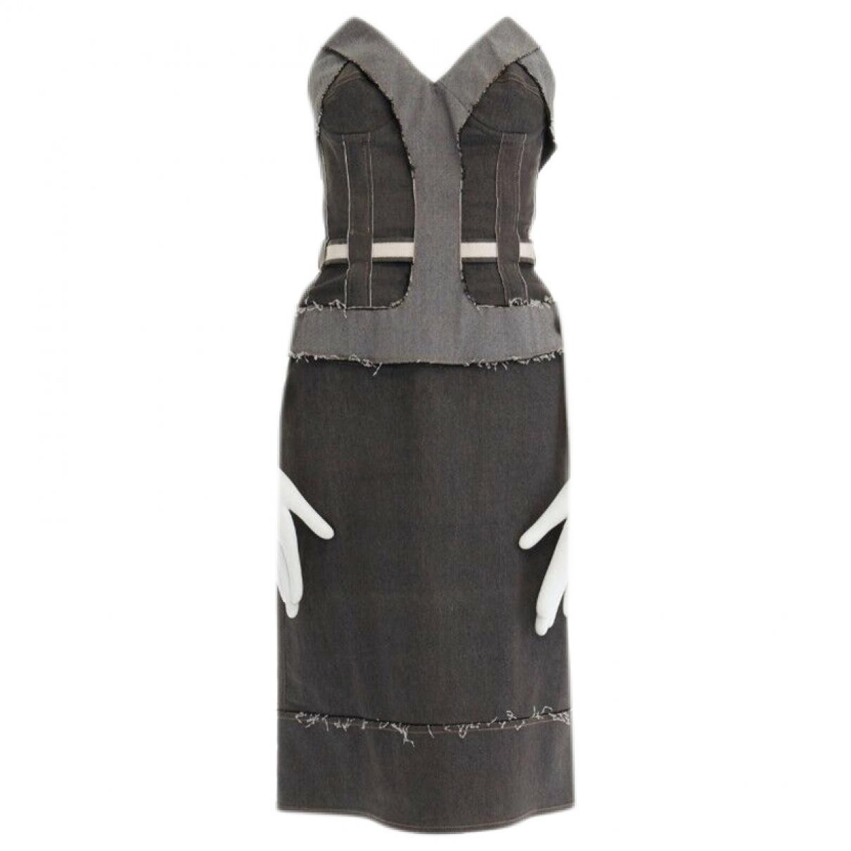 Stella Mccartney \N Grey Cotton dress for Women 40 IT