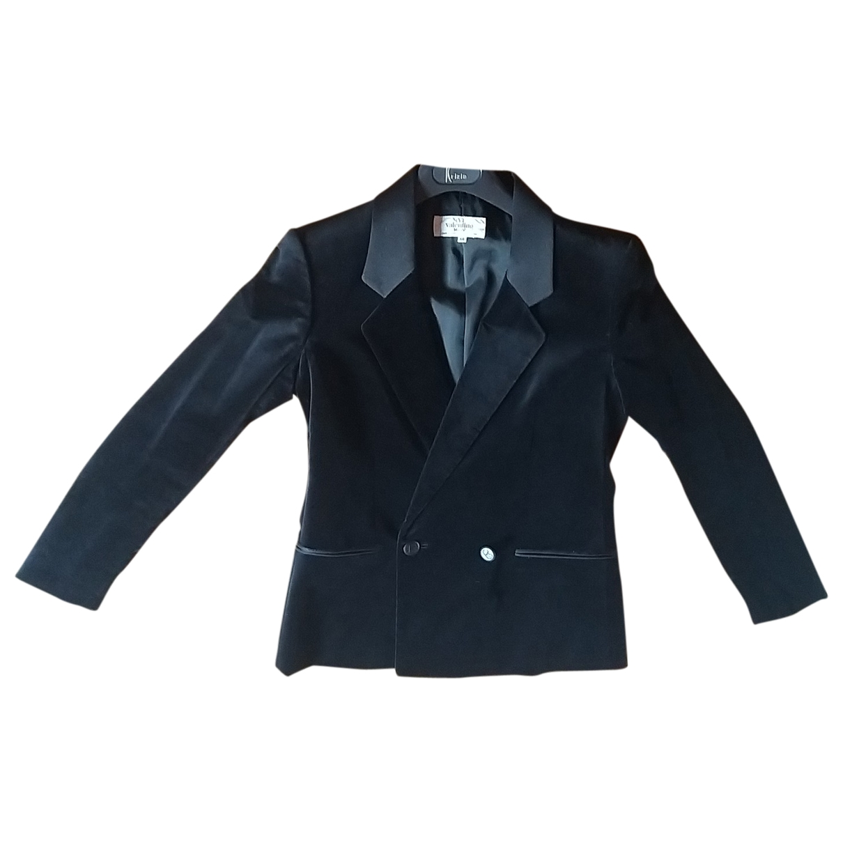 Valentino Garavani - Veste   pour femme en velours - noir