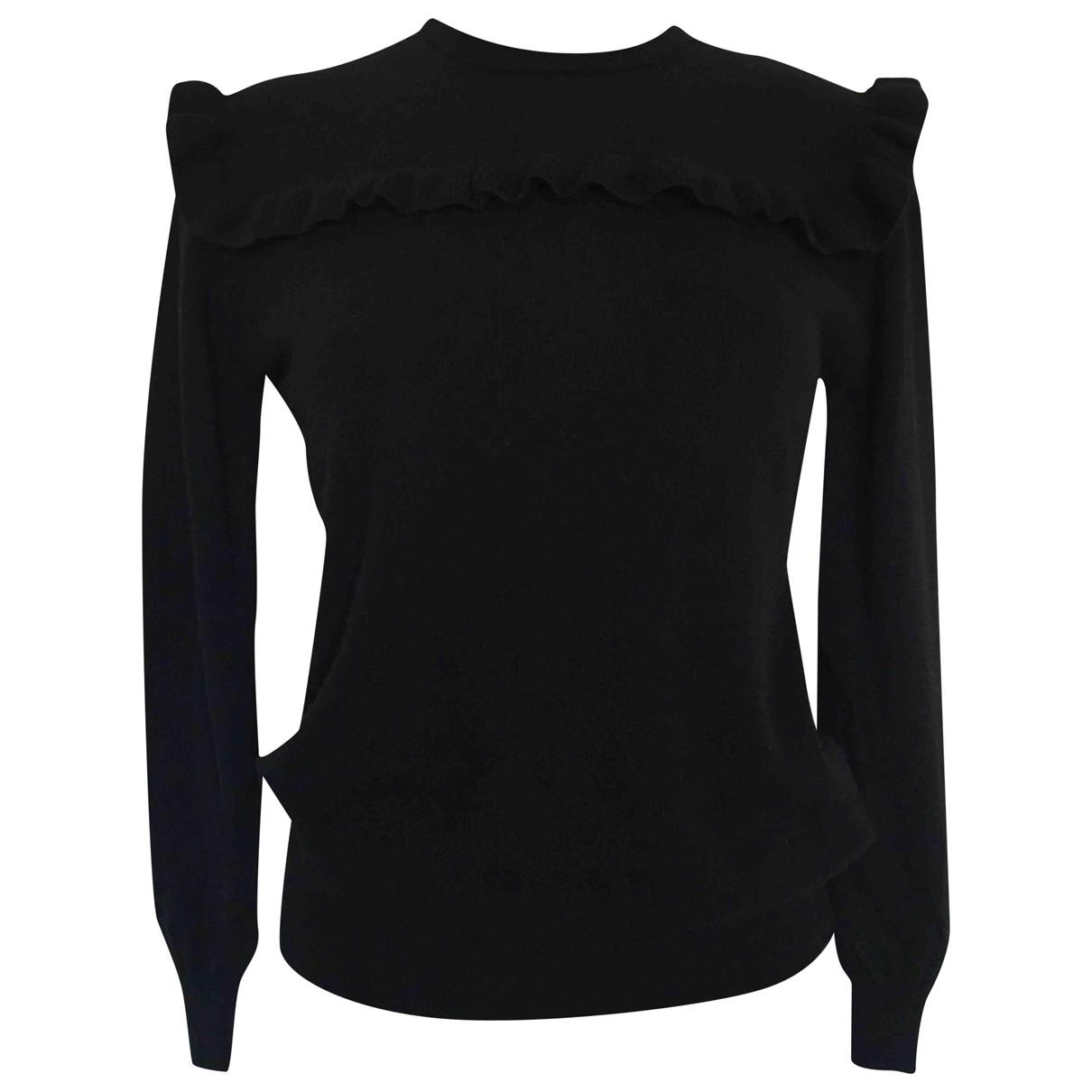 Alessandro Dellacqua - Pull   pour femme en laine - noir