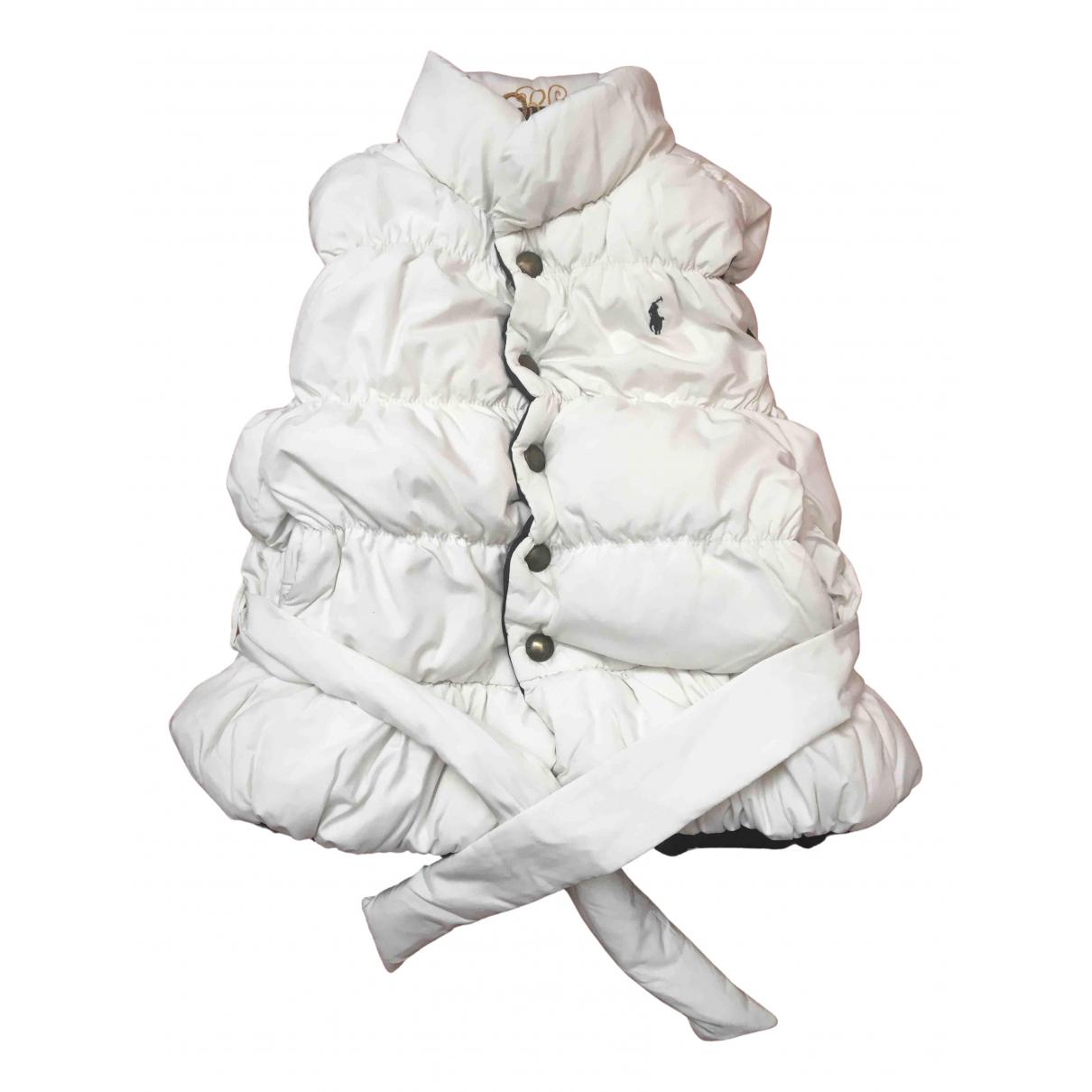 Polo Ralph Lauren \N Jacke, Maentel in  Weiss Baumwolle