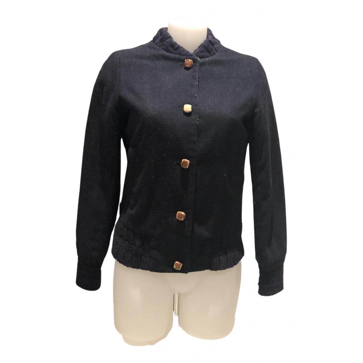 Sessun N Blue Wool jacket for Women S International