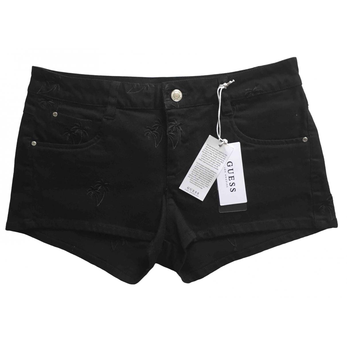 Guess \N Black Denim - Jeans Trousers for Women XS International
