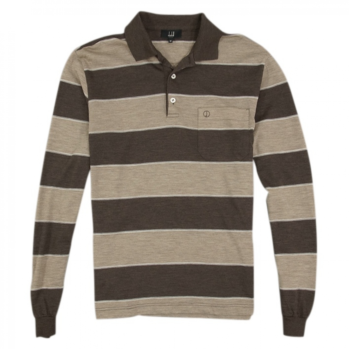 Alfred Dunhill \N Brown Polo shirts for Men M International