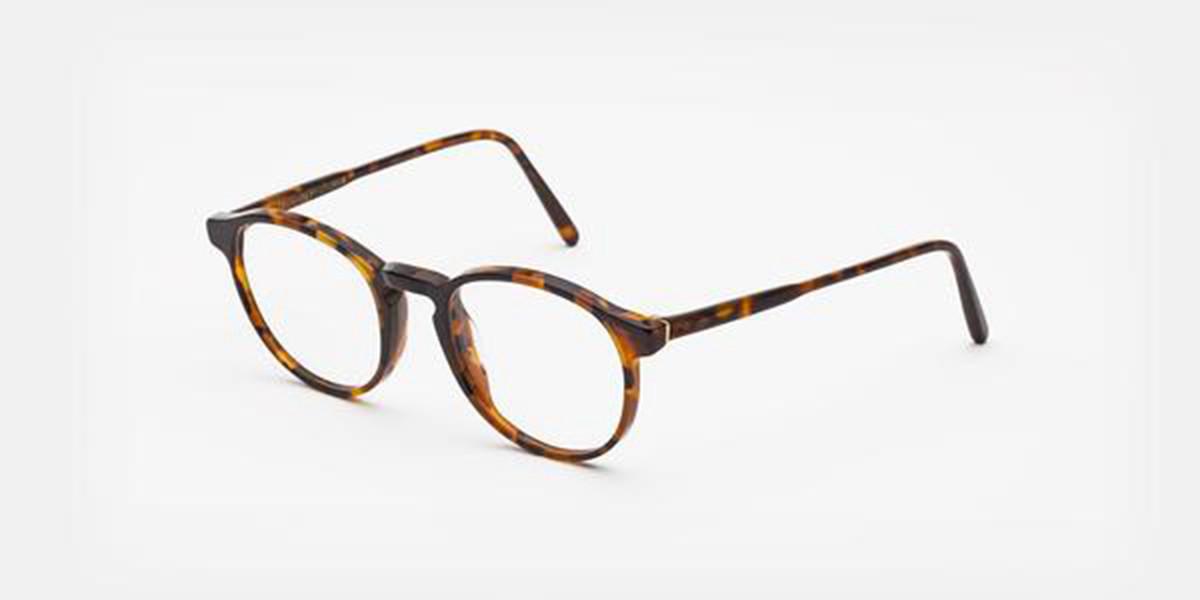 Retrosuperfuture Numero 01 Havana Nostra IL3Z 2YS Men's Glasses Tortoise Size 48 - Free Lenses - HSA/FSA Insurance - Blue Light Block