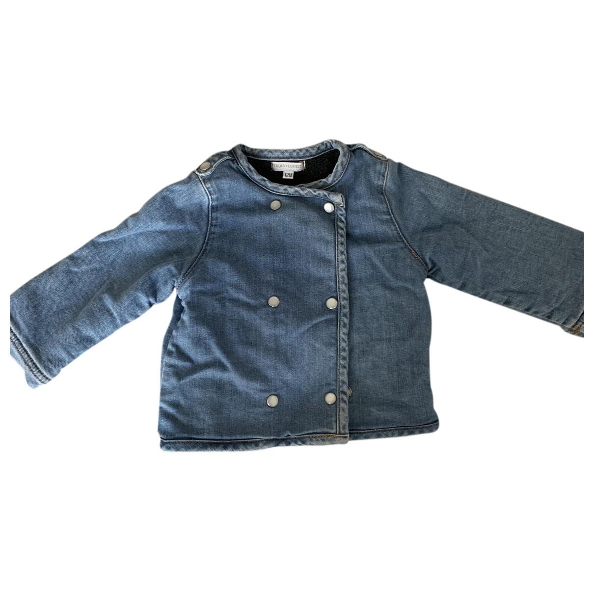 Louis Louise \N Jacke, Maentel in  Blau Denim - Jeans