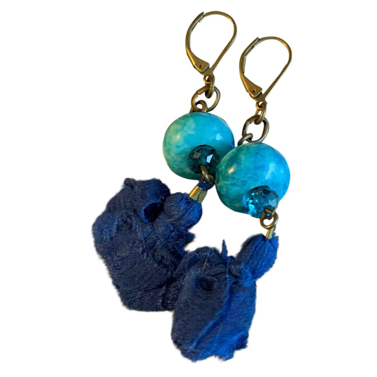 Isabel Marant N Blue Metal Earrings for Women N
