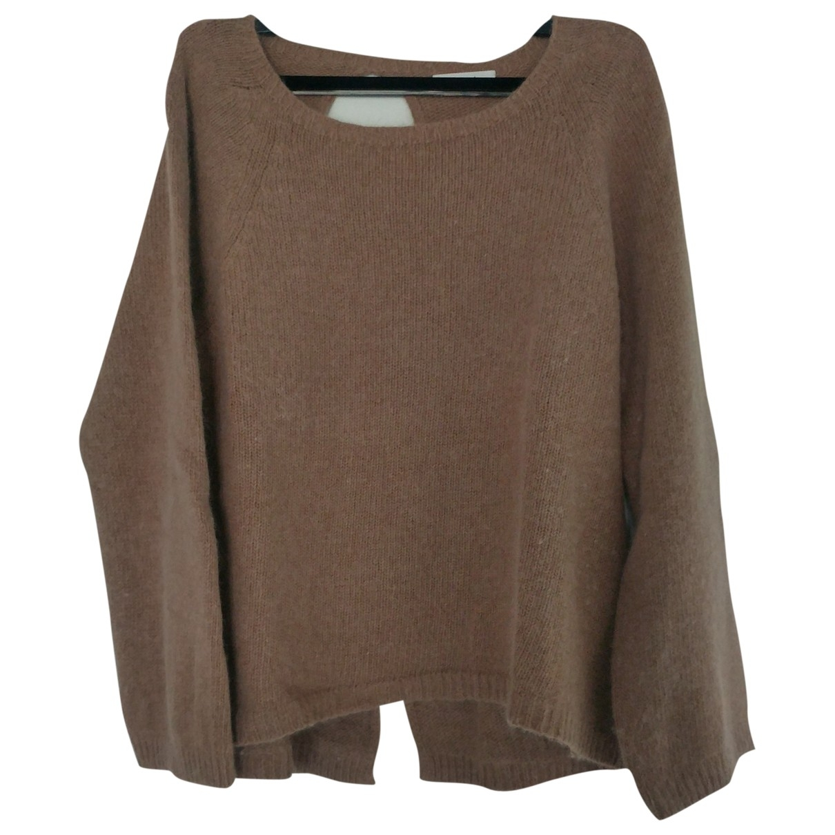 Non Signe / Unsigned \N Pullover in  Kamel Wolle