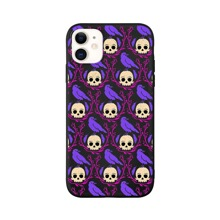 1pc Skull Print iPhone Case