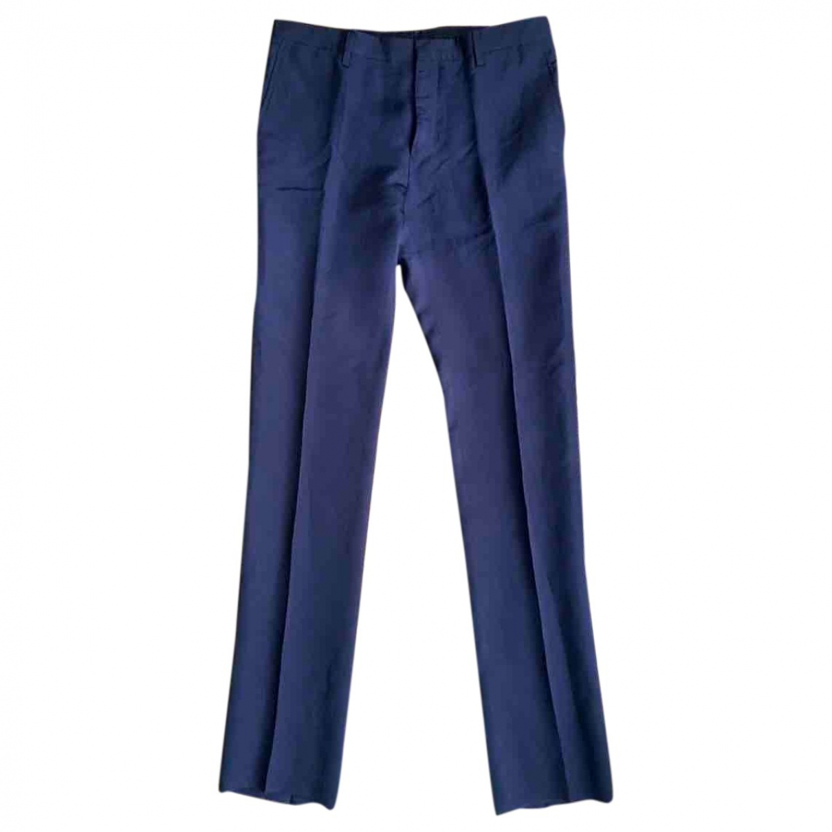 Lanvin \N Black Trousers for Men 46 IT