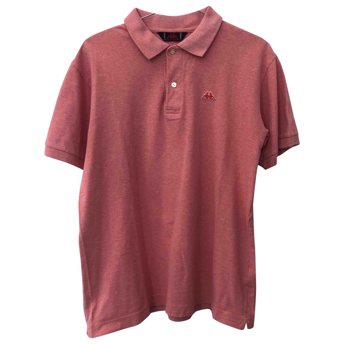 Kappa \N Pink Cotton Polo shirts for Men M International