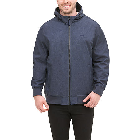 Dockers Lightweight Softshell Jacket Big and Tall, 3x-large , Blue