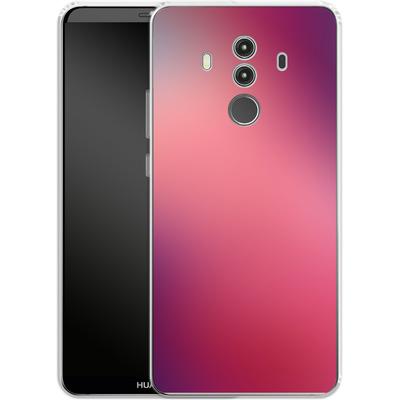 Huawei Mate 10 Pro Silikon Handyhuelle - Coral Swirl von #basic