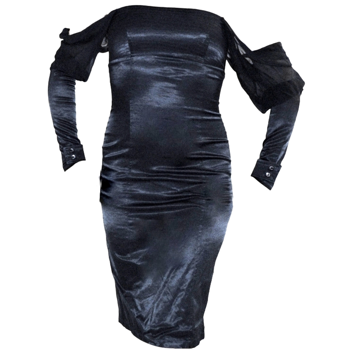Dolce & Gabbana \N Kleid in  Schwarz Polyester