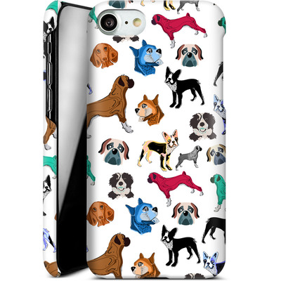 Apple iPhone 7 Smartphone Huelle - Puppy Love von Mukta Lata Barua