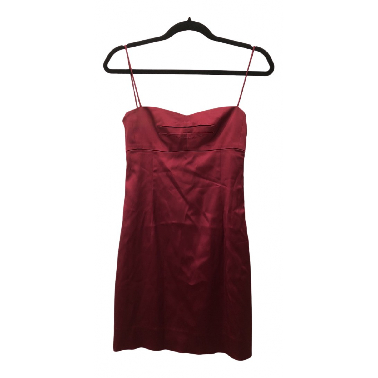 Hugo Boss \N Burgundy Silk dress for Women 8 UK