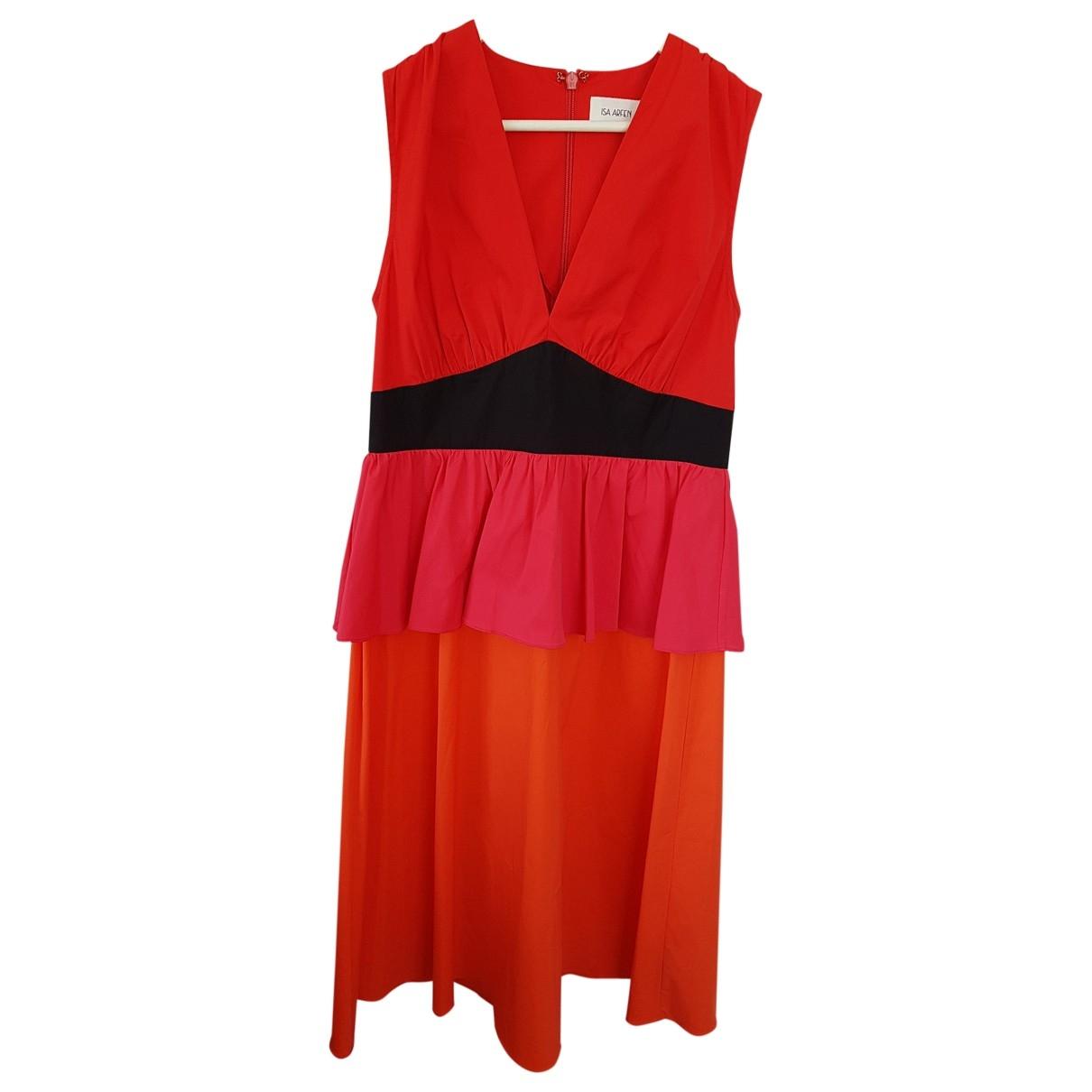 Isa Arfen - Robe   pour femme en coton - multicolore