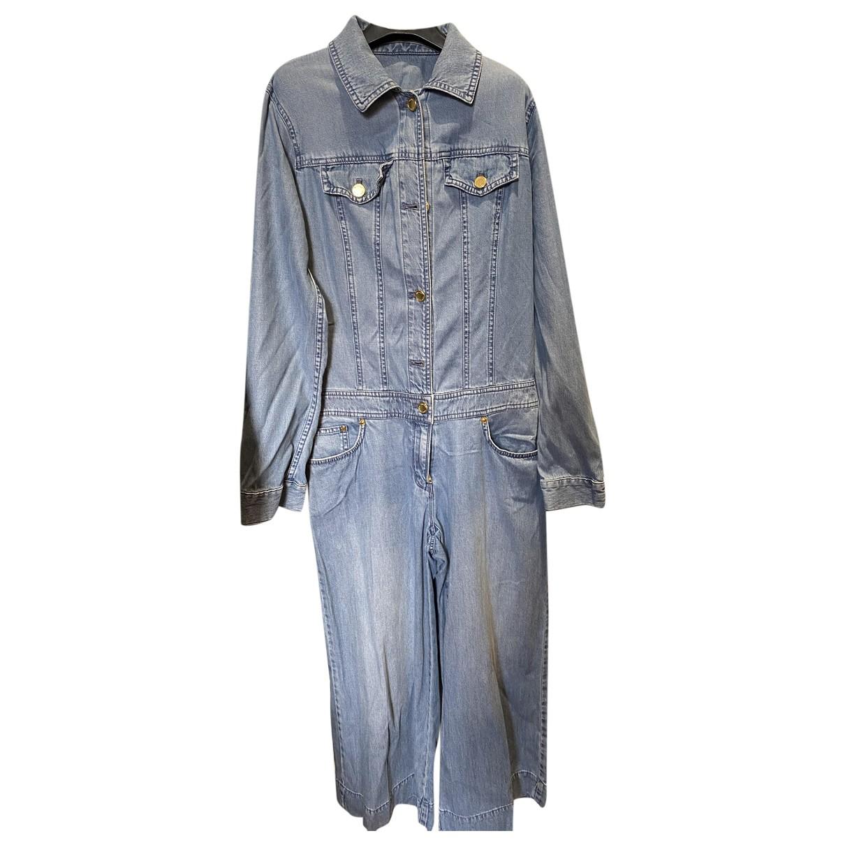 Michael Kors - Combinaison   pour femme en denim - bleu