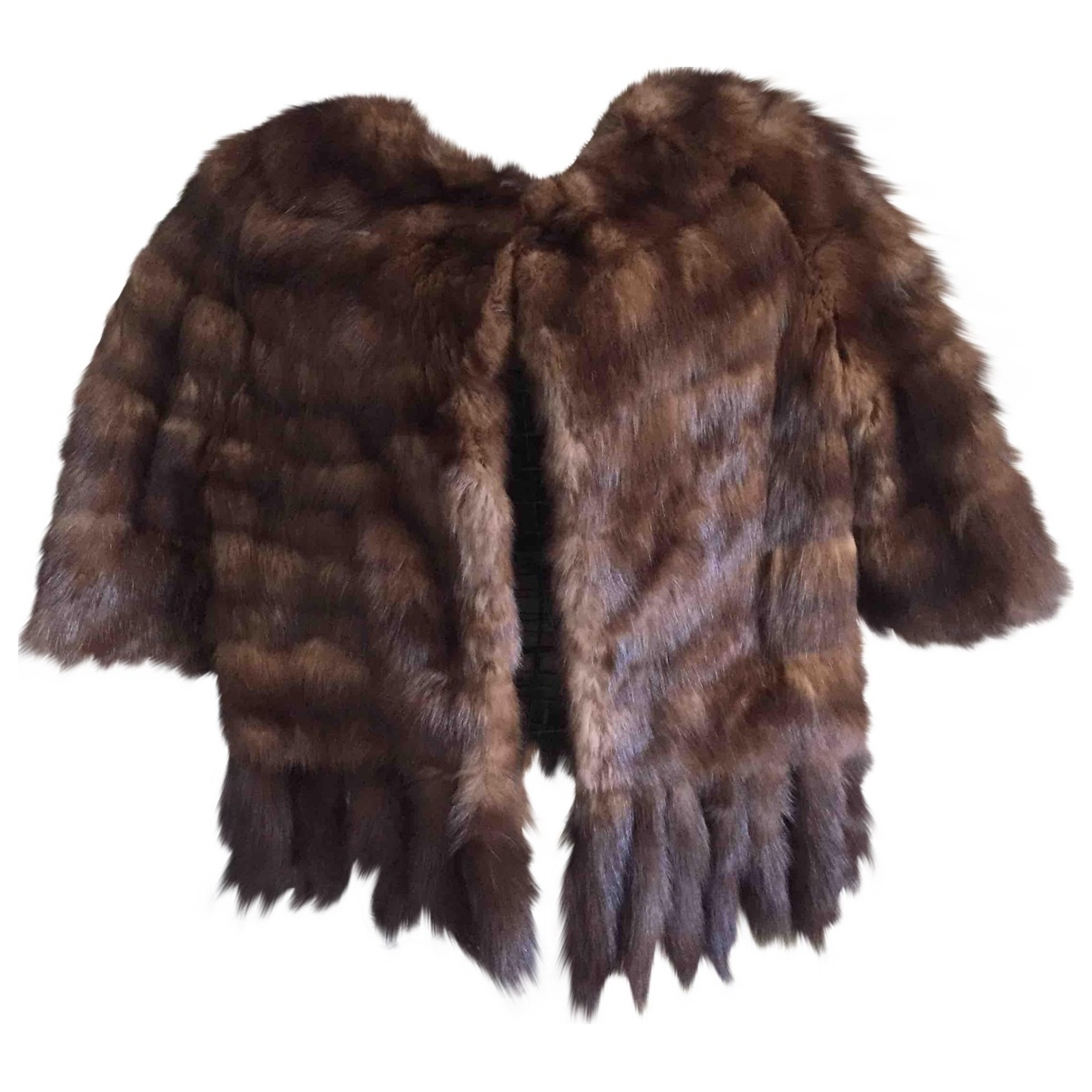 Dior \N Brown Mink jacket for Women 42 FR