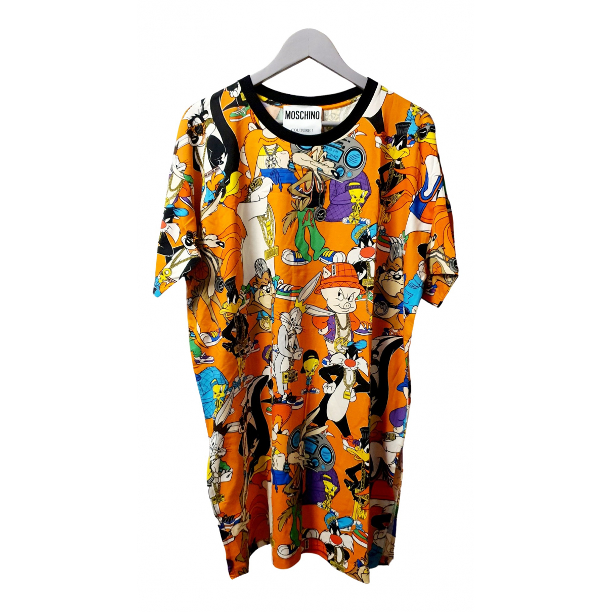 Moschino \N Multicolour Cotton dress for Women 44 IT