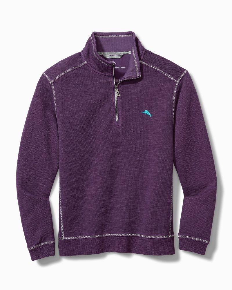 Big & Tall Tobago Bay Half-Zip Sweatshirt