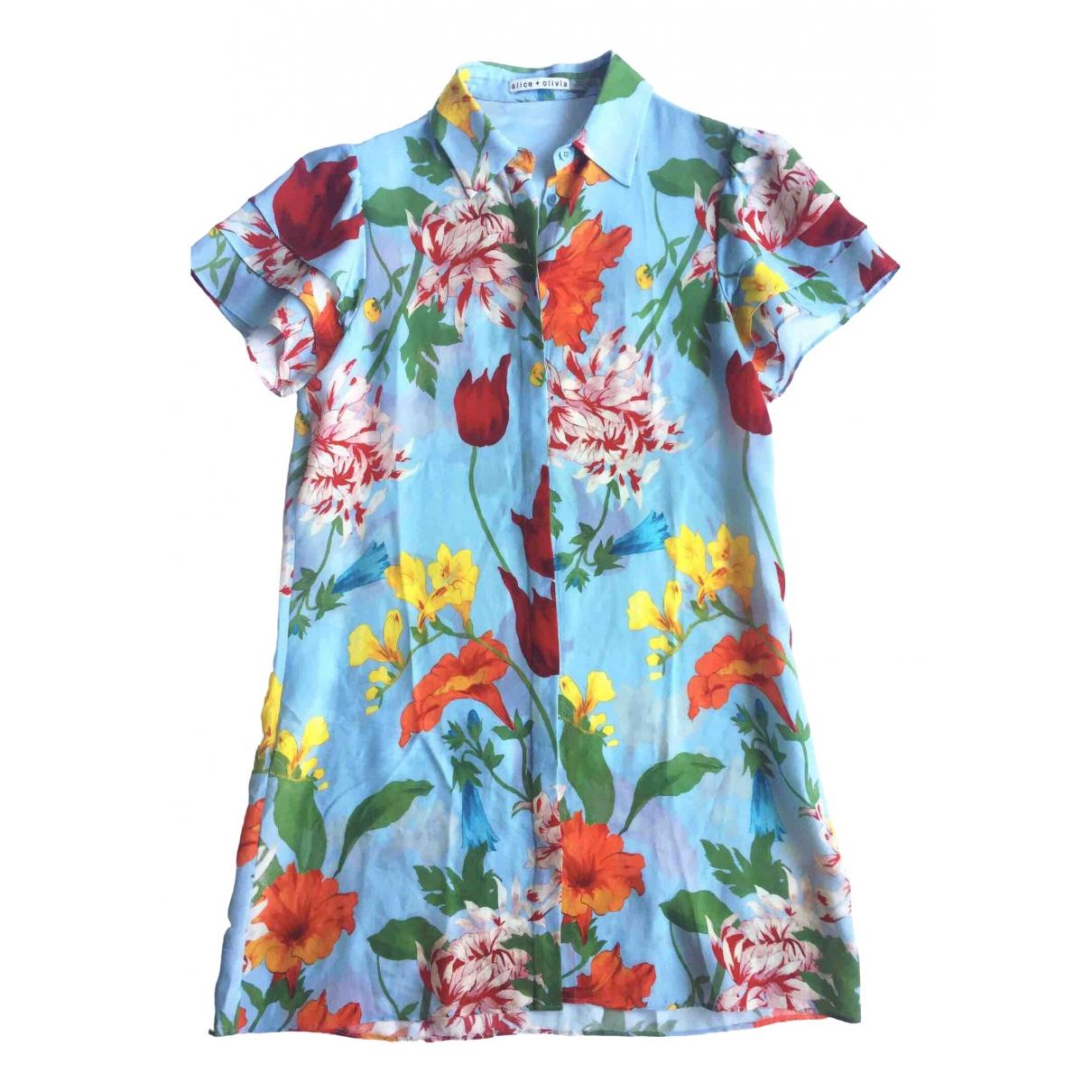Alice & Olivia \N Multicolour Silk dress for Women S International