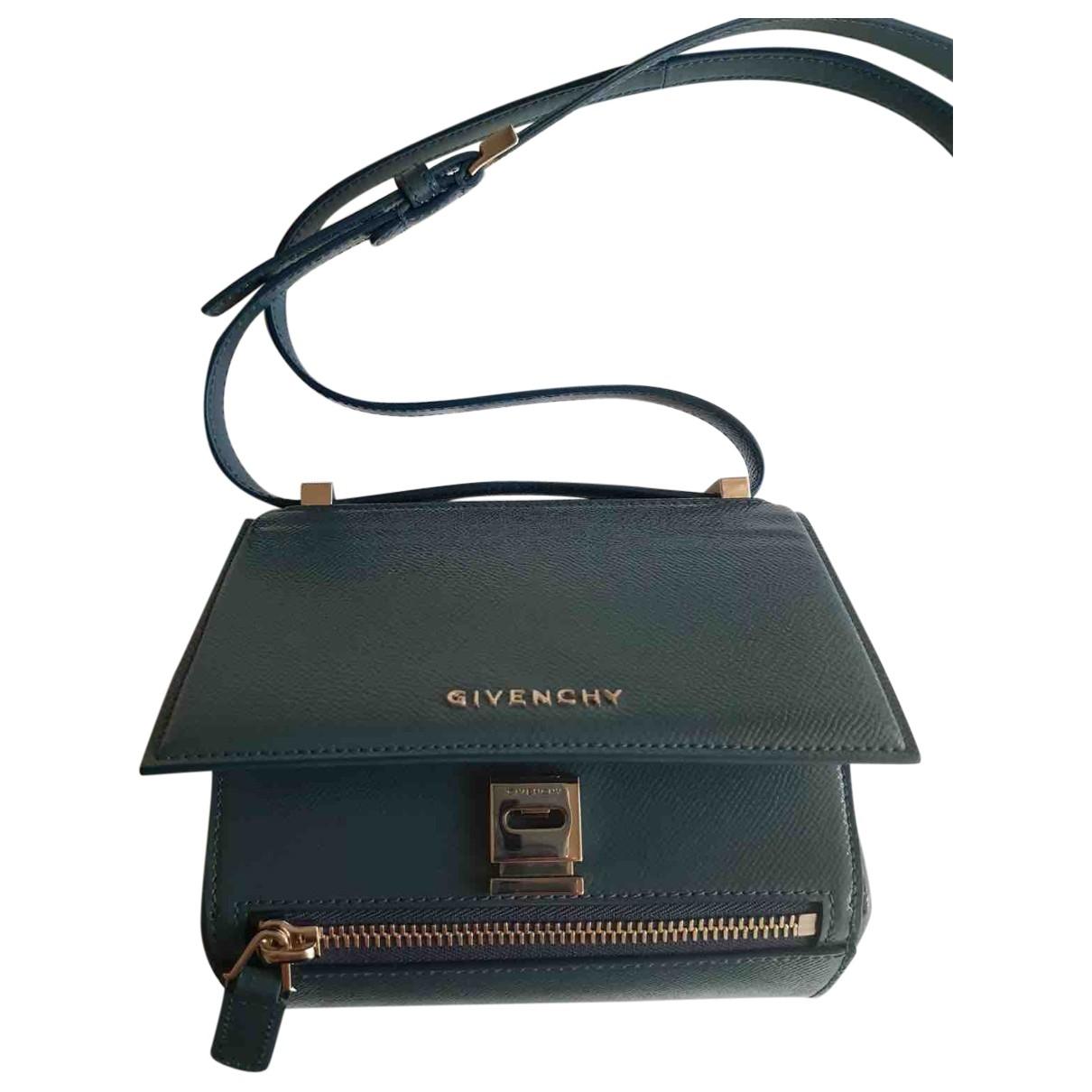 Givenchy Pandora Box Blue Patent leather handbag for Women \N