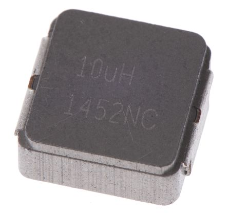 Vishay , IHLP, 2225 (5664M) Shielded Wire-wound SMD Inductor with a Metal Composite Core, 10 μH ±20% Wire-Wound 3A Idc (5)