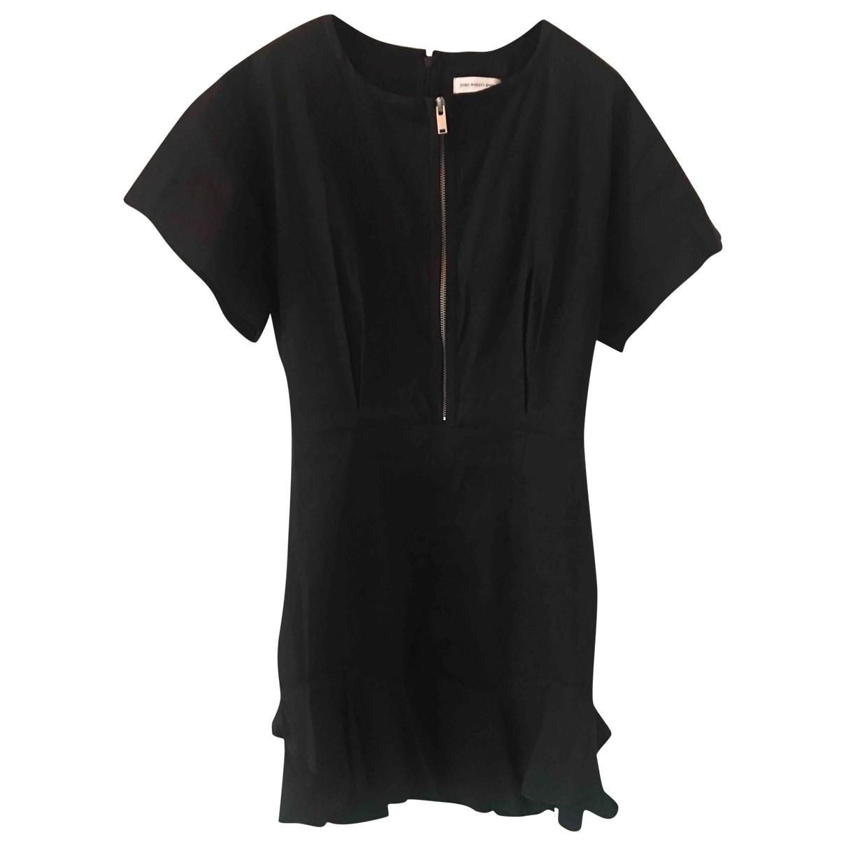 Isabel Marant Etoile \N Black Cotton dress for Women 42 FR