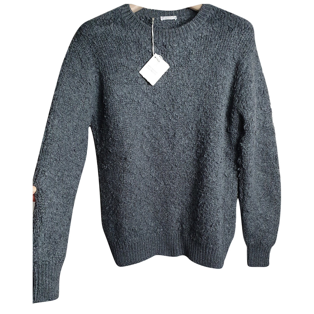 Brunello Cucinelli \N Grey Cashmere Knitwear for Women M International