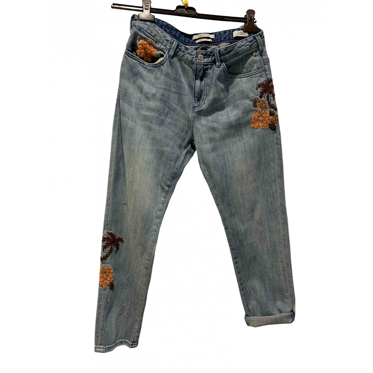 Pantalon en Denim - Vaquero Azul Scotch & Soda