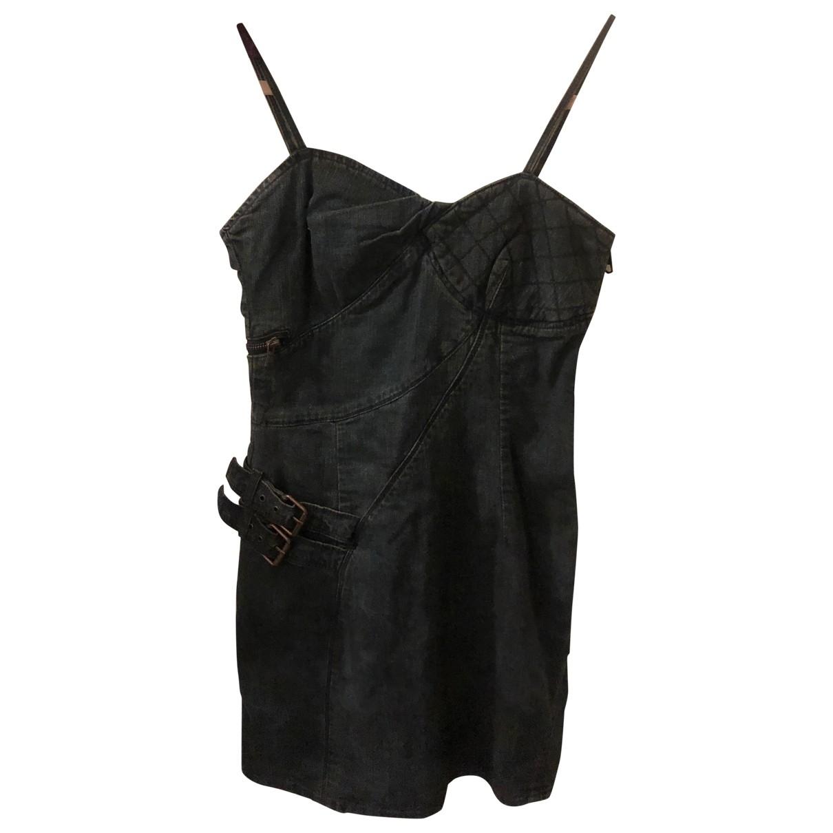 Diesel \N Blue Denim - Jeans dress for Women 34 FR