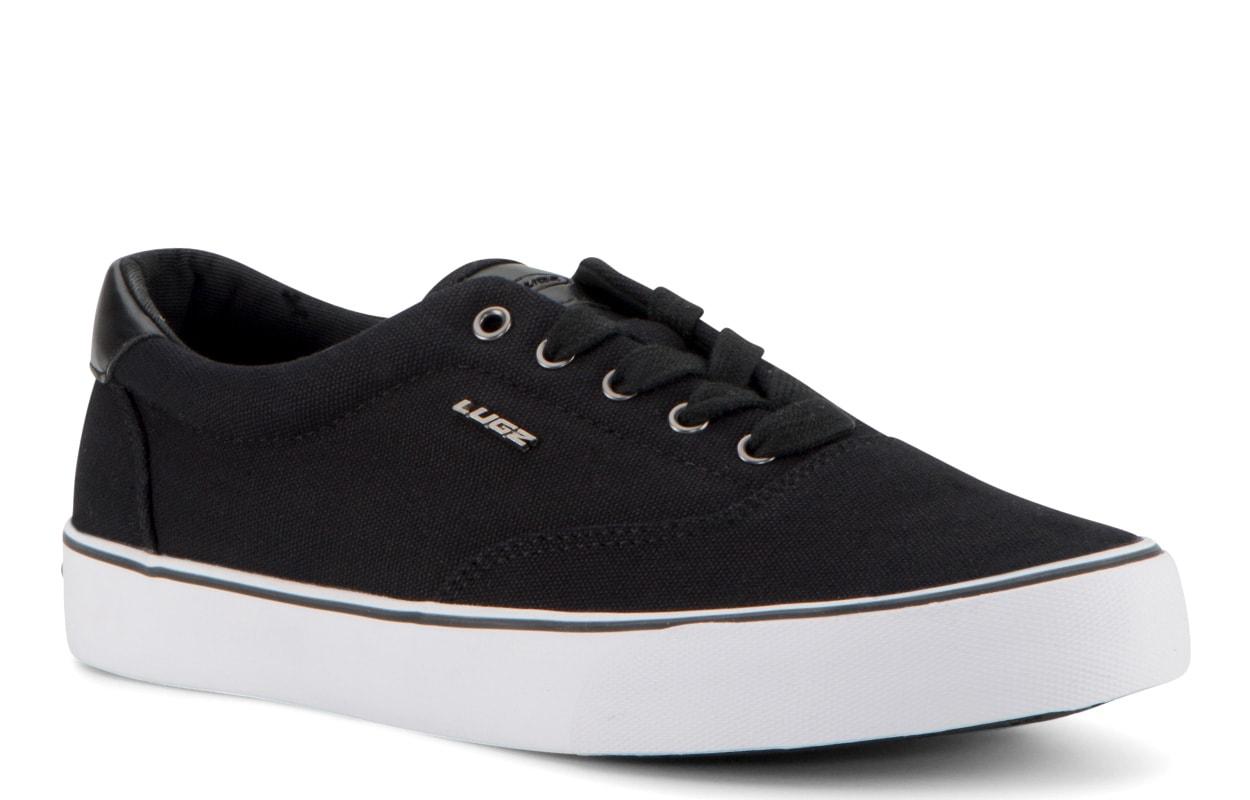 Men's Flip Oxford Sneaker (Choose Your Color: Black/White, Choose Your Size: 10.0)