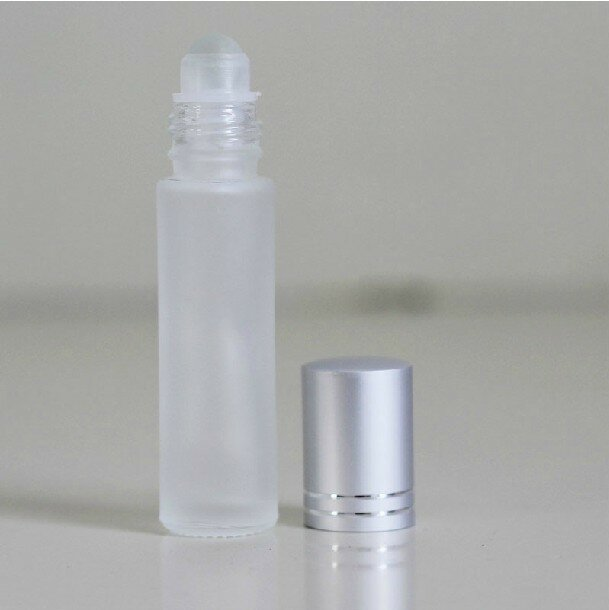 10ml Portable Fragrance Perfume Roller Ball Glass Bottle Essential Oil Container