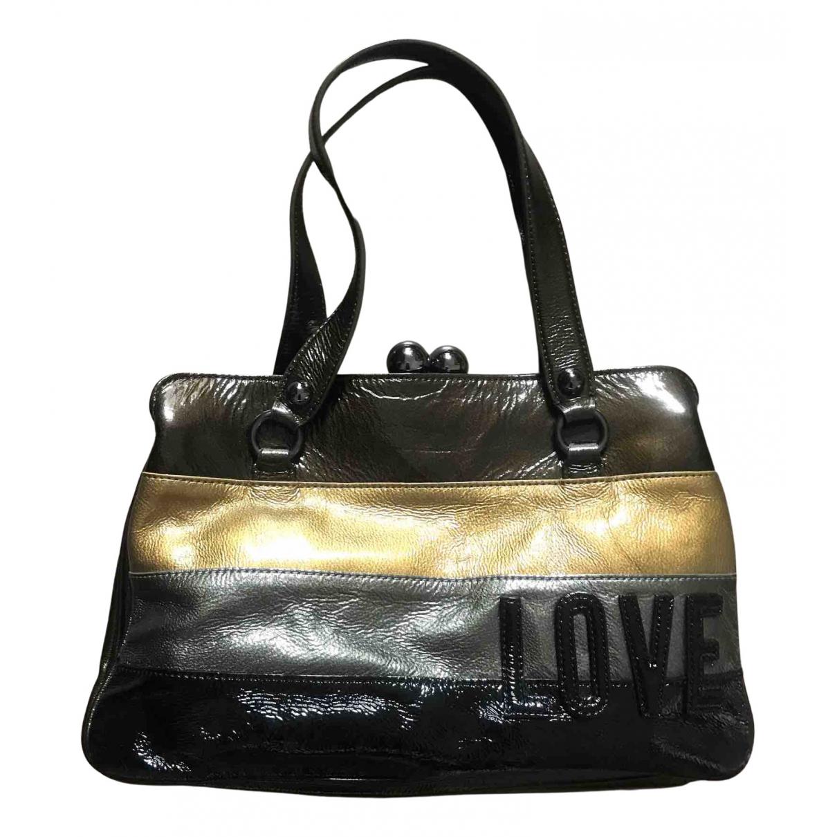 Moschino Love \N Patent leather handbag for Women \N