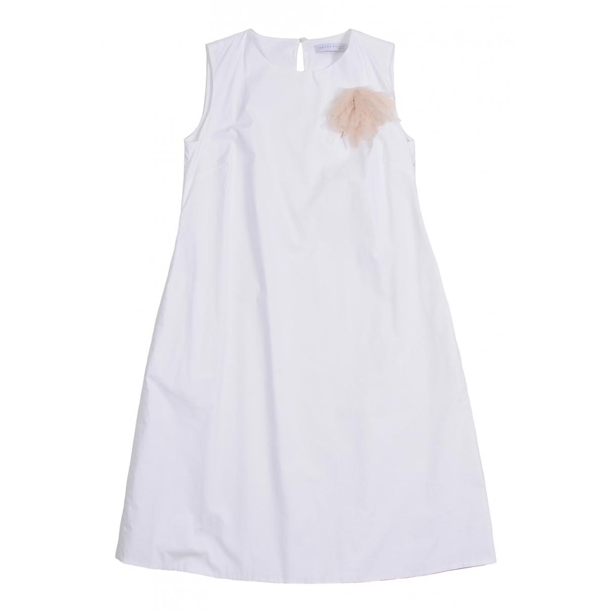 Fabiana Filippi - Robe   pour femme en coton - blanc