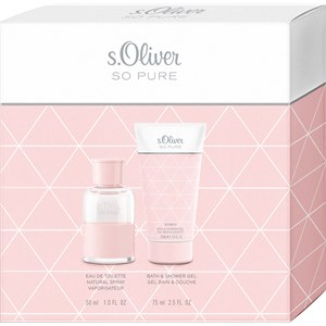s.Oliver So Pure Women Gift set Eau de Toilette Spray 30 ml + Luxury Shower Gel 75 ml 1 Stk.