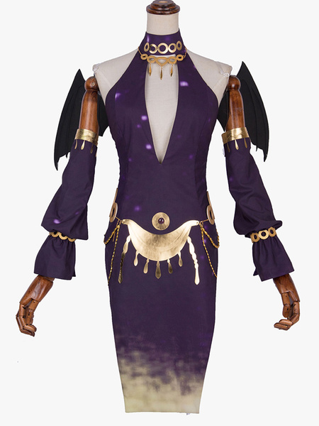 Milanoo Halloween Carnaval Cosplay de Identity V Priest Dream Messenger Chiffon Cosplay Set