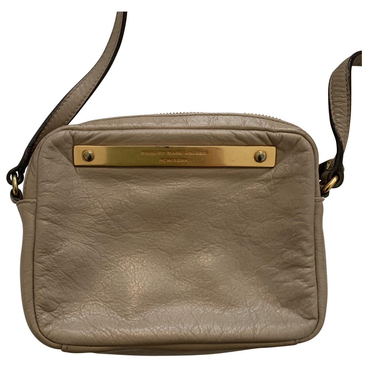 Marc By Marc Jacobs \N Grey Leather handbag for Women \N