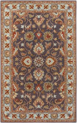 Caesar CAE-1004 5' x 8' Rectangle Traditional Rug in