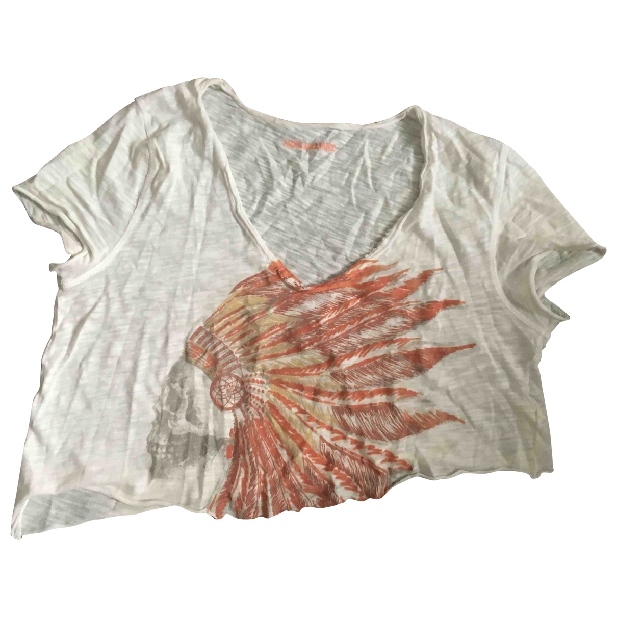 Zadig & Voltaire \N White Cotton  top for Women S International