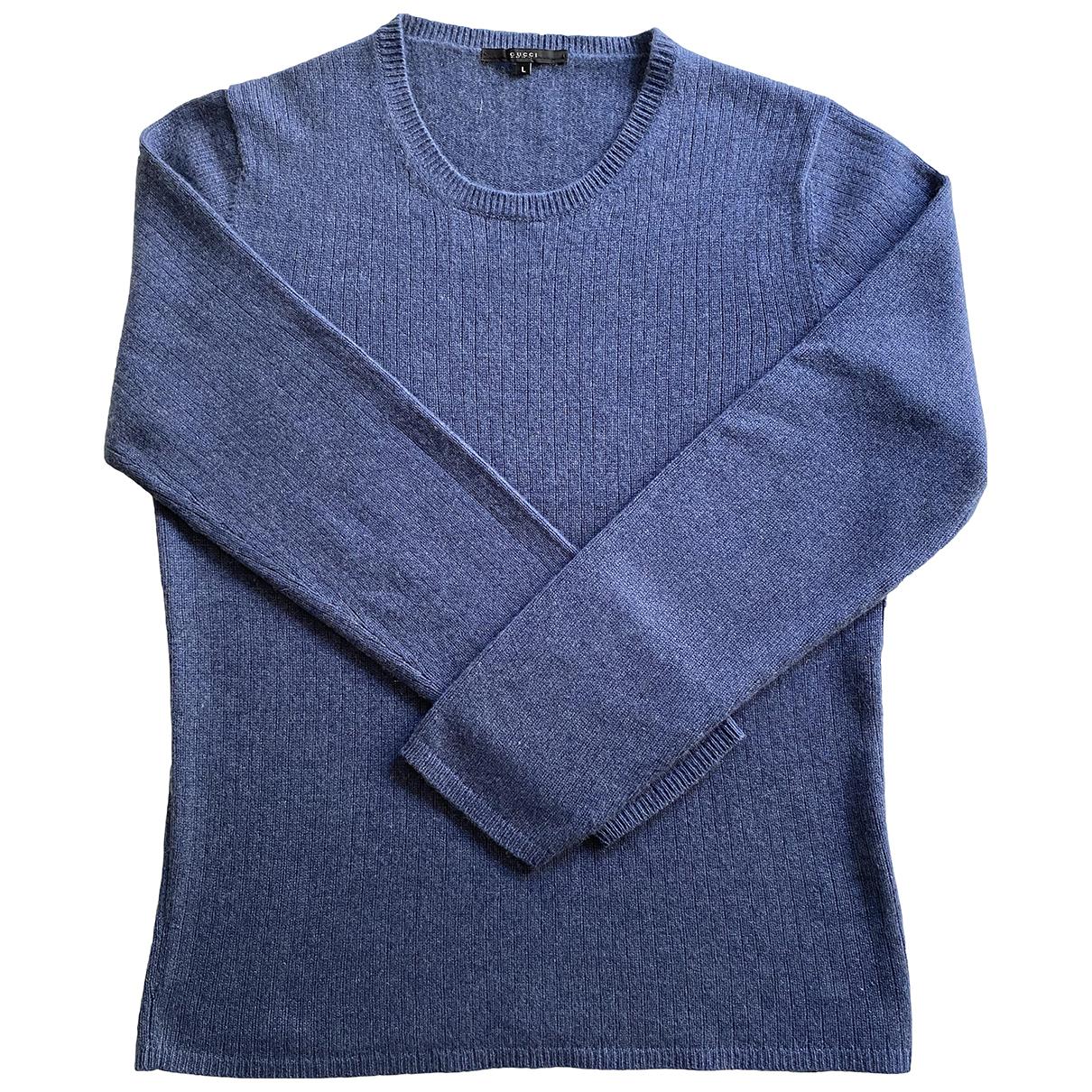 Gucci - Pulls.Gilets.Sweats   pour homme en cachemire - bleu