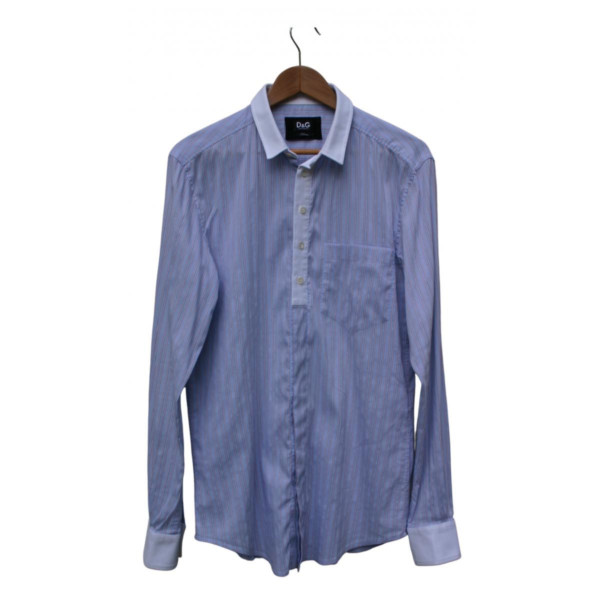 D&g - Chemises   pour homme en coton - multicolore