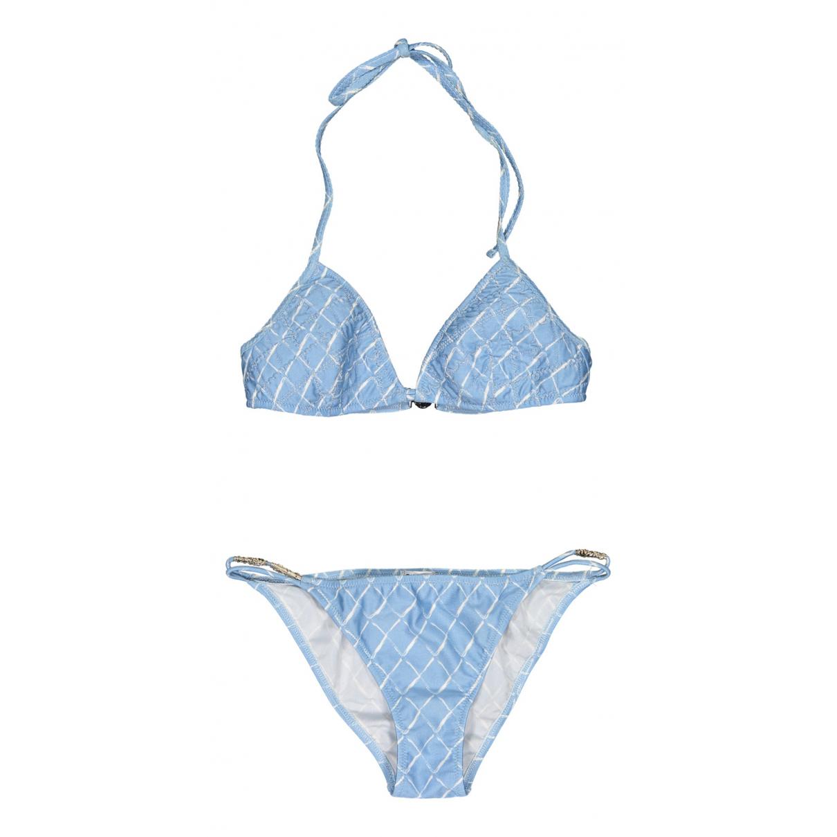 Chanel \N Badeanzug in  Blau Synthetik