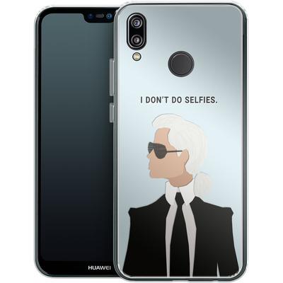 Huawei P20 Lite Silikon Handyhuelle - Lagerfeld von caseable Designs