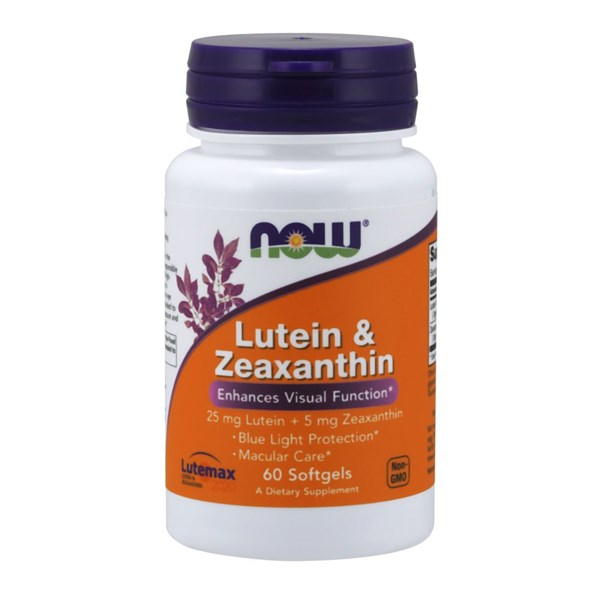 Lutein & Zeaxanthin 60 Softgels by Now Foods