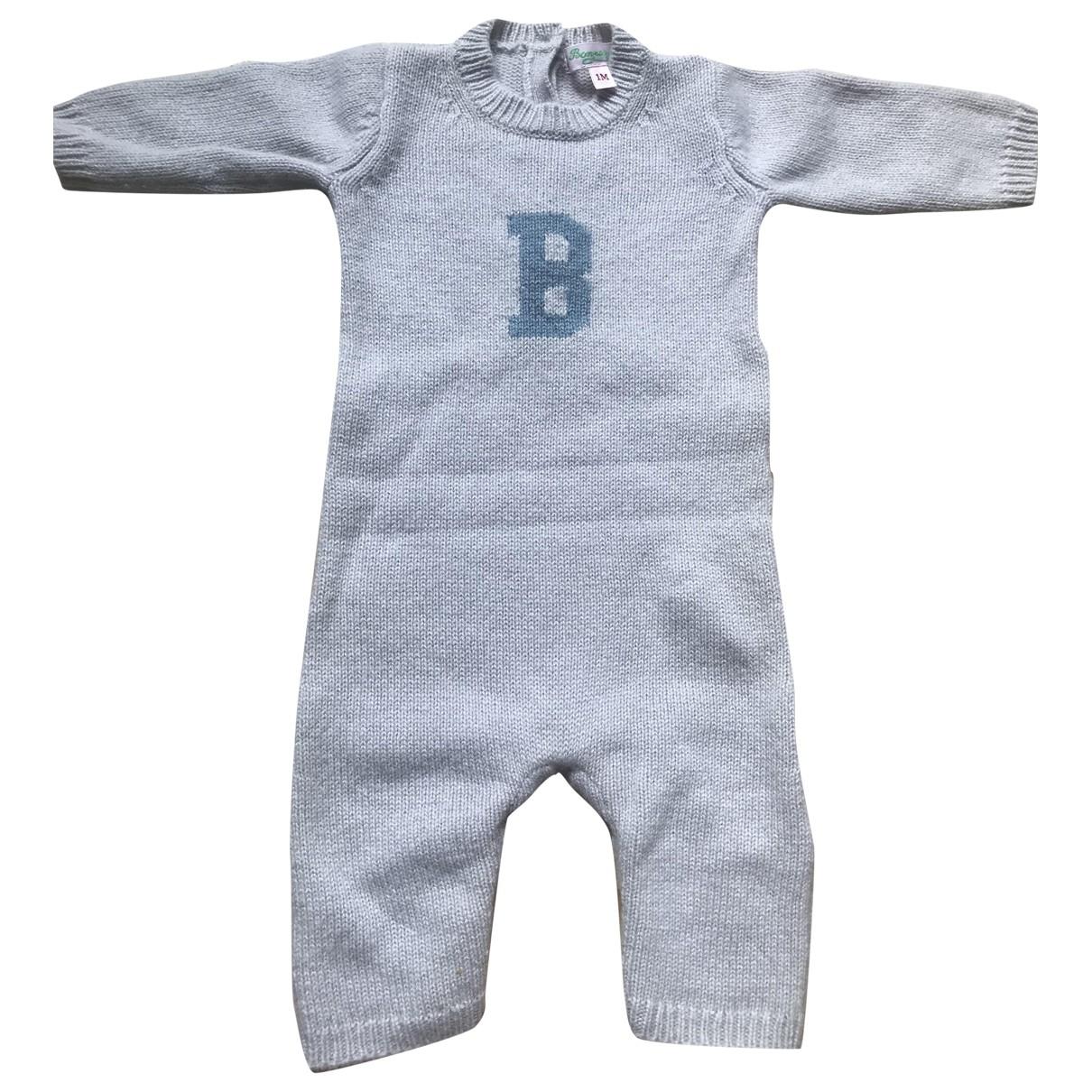 Bonpoint - Les ensembles   pour enfant en cachemire - gris