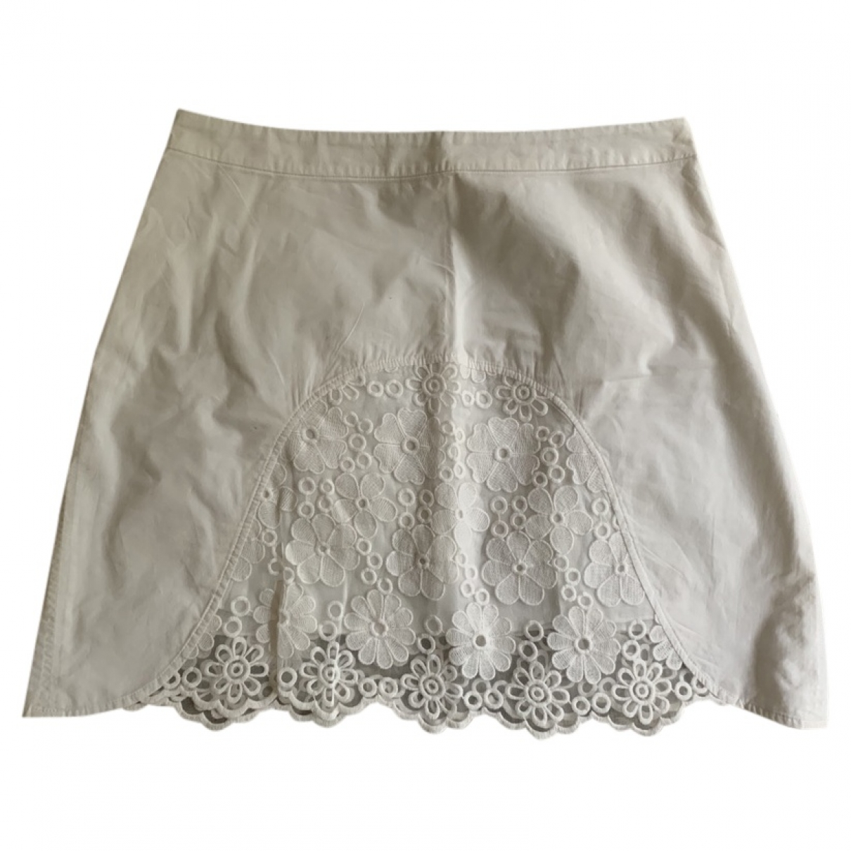 See By Chloe - Jupe   pour femme en coton - blanc