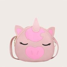 Girls Unicorn Design Crossbody Bag